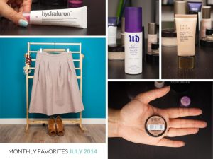 Monthly Favorites July 2014
