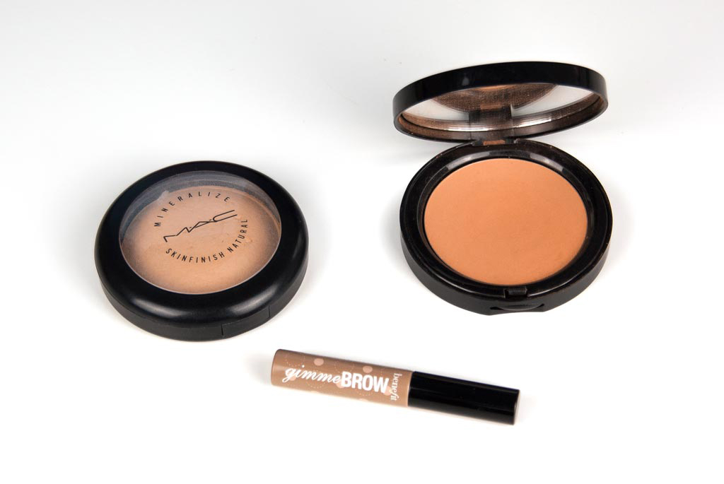 Benefit Gimme Brow - Mac Mineralize Skinfinish Natural - Bobbi Brown Bronzing Powder