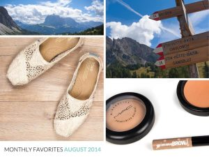 Monthly Favorites August 2014