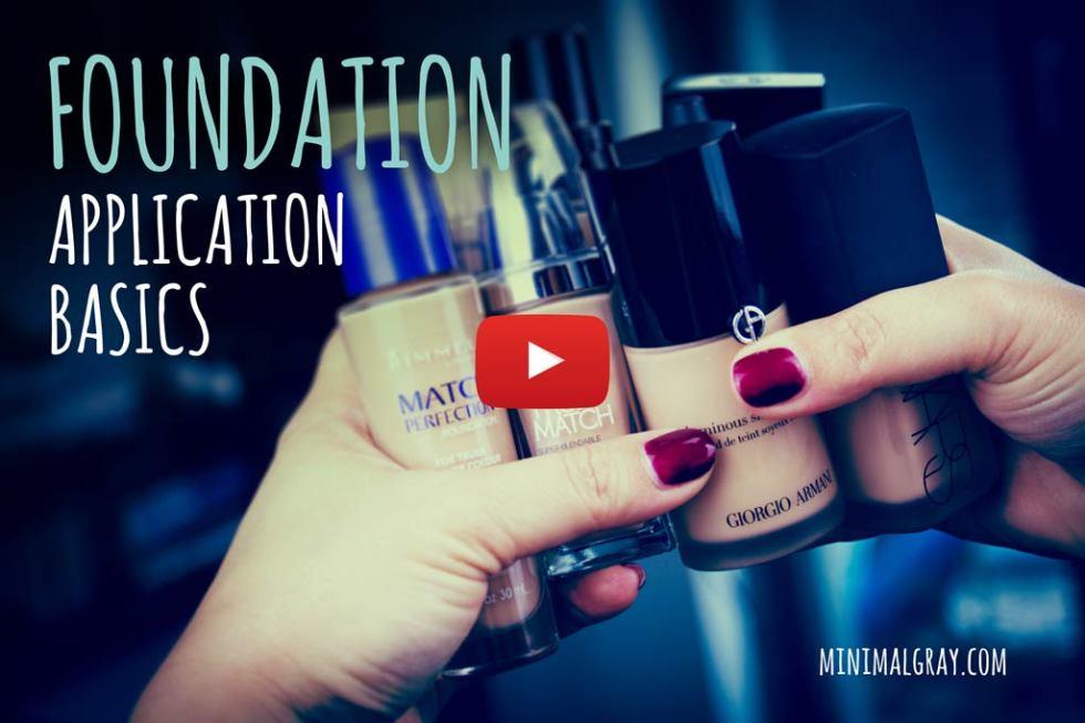 foundation application basics