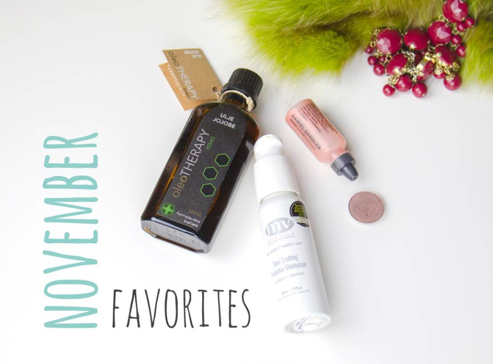 Monthly favorites best loved in November