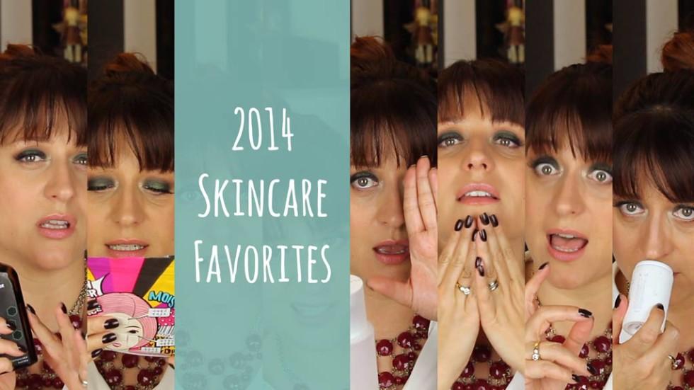 2014 Skincare Favorites