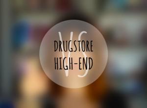 Drugstore vs High End makeup brands