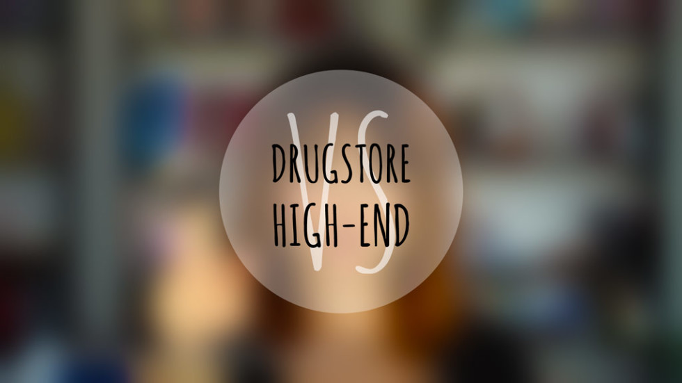 Drugstore vs High End makeup brands