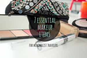 7 essential makeup items for minimalist travelers