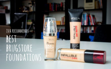Iva Recommends August – Best Drugstore Foundations